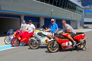 Legends ready for action at Jerez Circuit