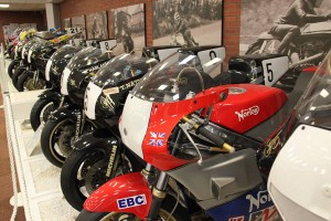 Classic Norton Race Bikes