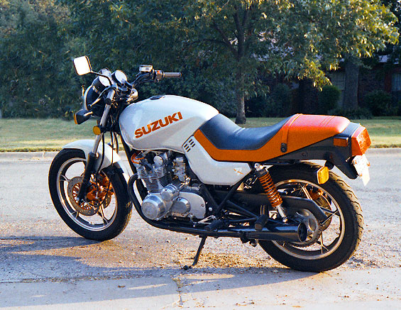 on 1981 Suzuki Gs550l