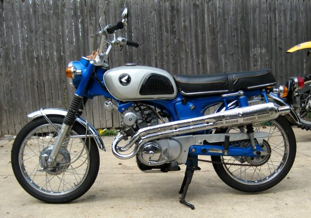 Classic Honda Motorcycle Exhausts