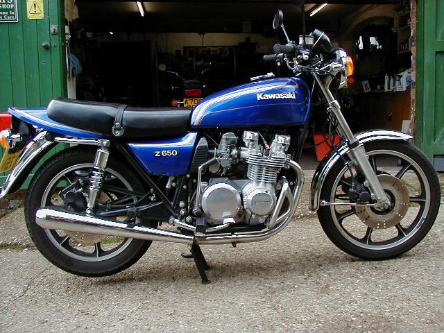 Kawasaki Z650 Gallery - Classic Motorbikes