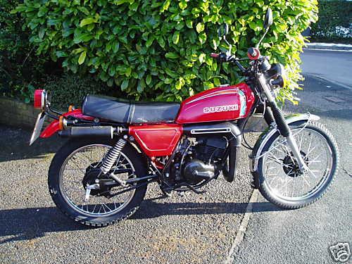 suzuki ts100 gallery classic motorbikes rh classic motorbikes net 1973 Suzuki Pe 125 Suzuki TM 125