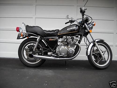 on 1980 Suzuki Gs550l