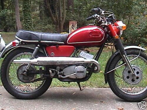 Yamaha Ds6 Classic Motorbikes