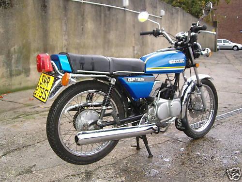 Suzuki Gp125 Classic Motorbikes