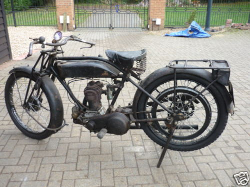 Triumph Model P - Classic Motorbikes