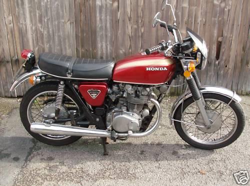 1973 Honda CB450 K5