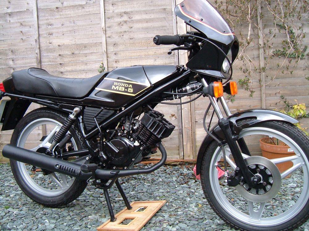 Honda MB5 Gallery - Classic Motorbikes