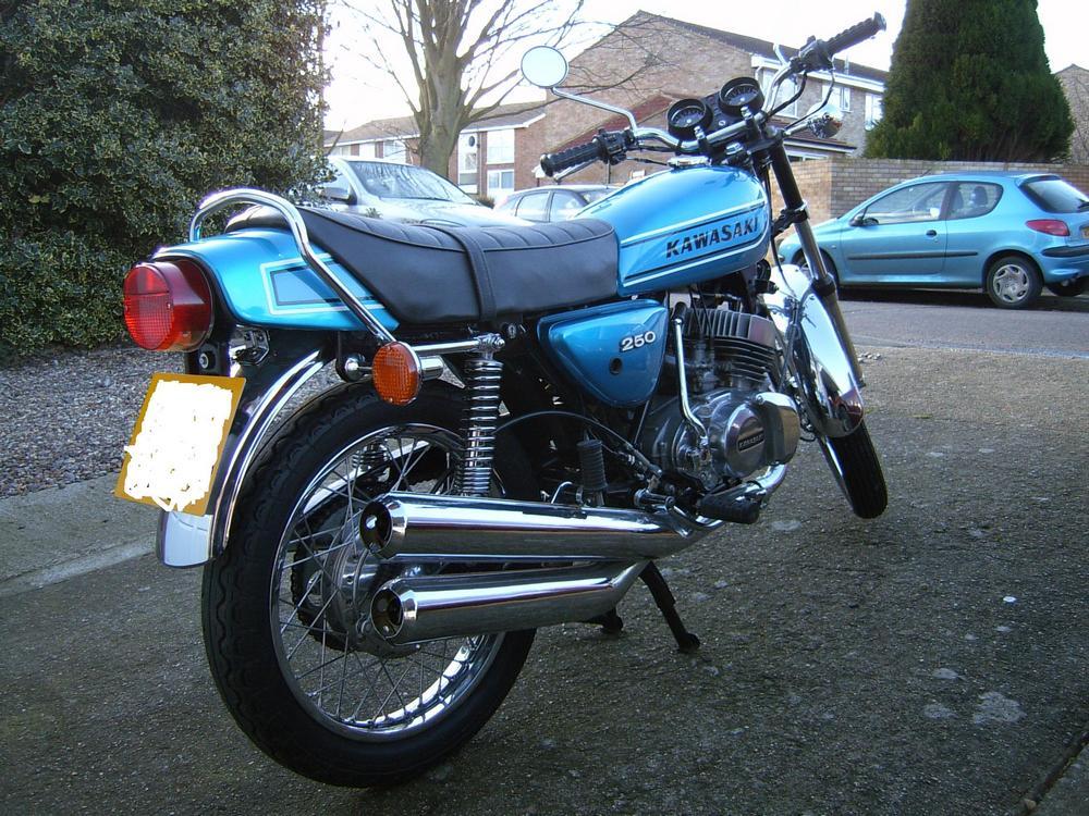 Kawasaki S1 Classic Motorbikes