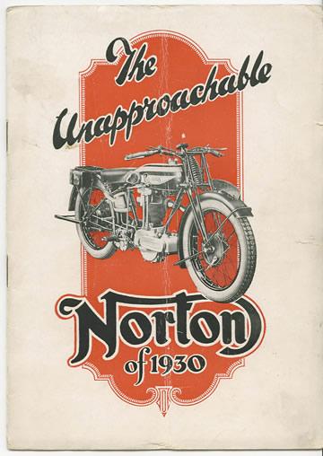 norton motorcycle posters motorcycles 1930 ad classic ads bike advertising history british birmingham sales moto company motos commando anciennes sold