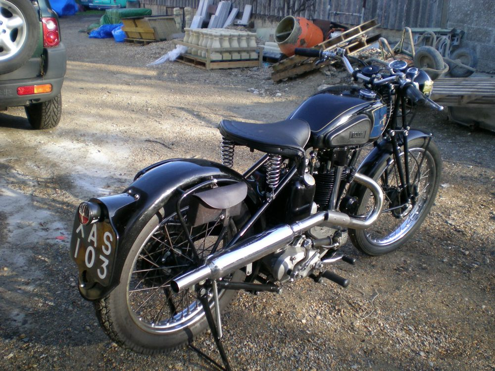 levis classic motorcycles motorbikes magneto bike 500cc d34 previously believe mods various based