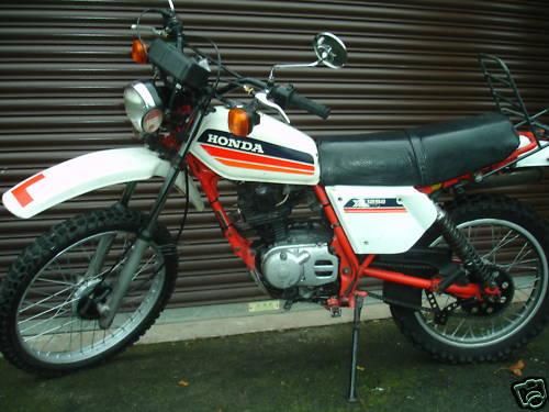 Honda Xl125 Gallery Classic Motorbikes