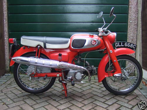 1965 Honda 65cc Motorcycle For Sale