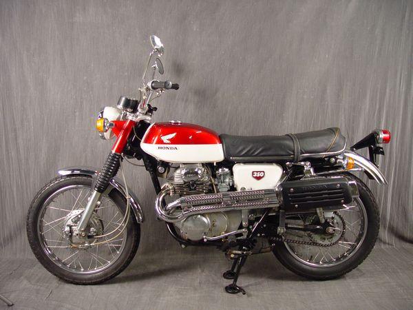Honda CL350 Gallery - Classic Motorbikes
