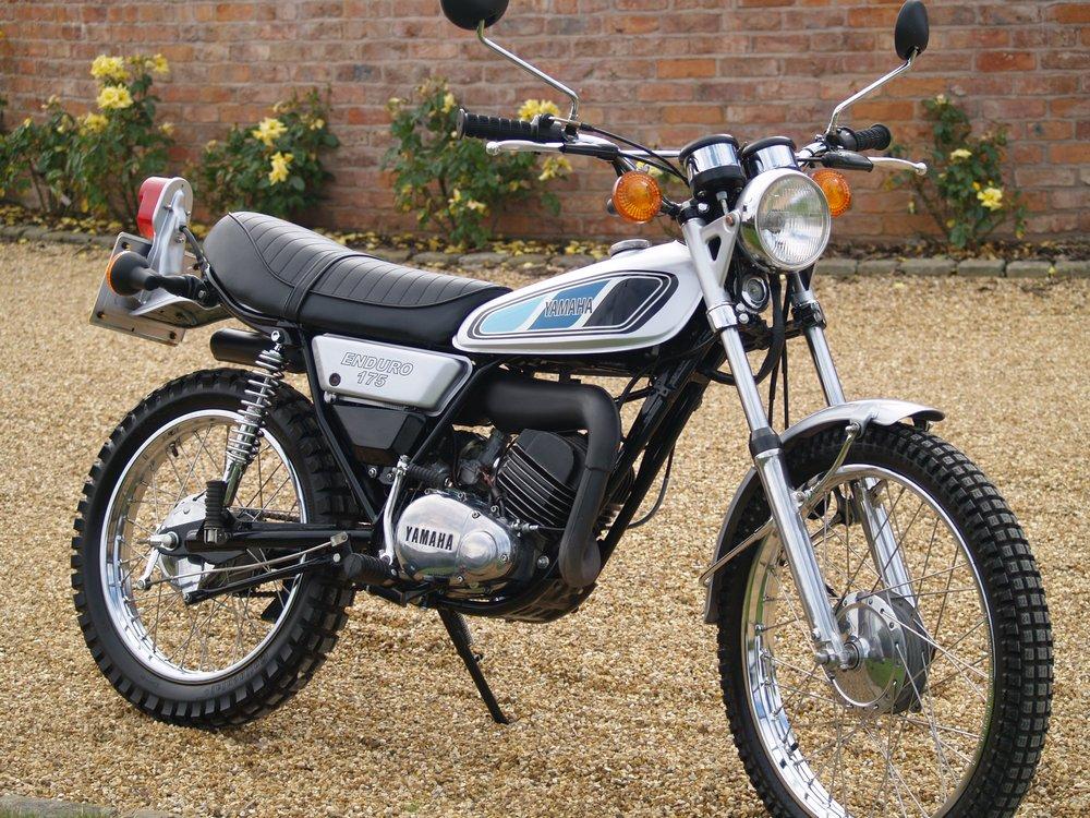 Yamaha Trail Bike