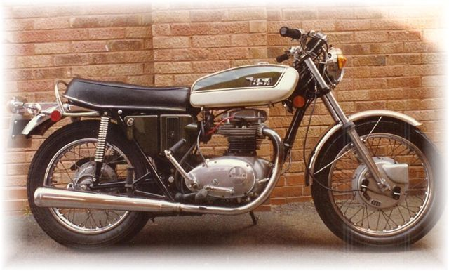 Bsa A65 Lightning Clubman Gallery Classic Motorbikes