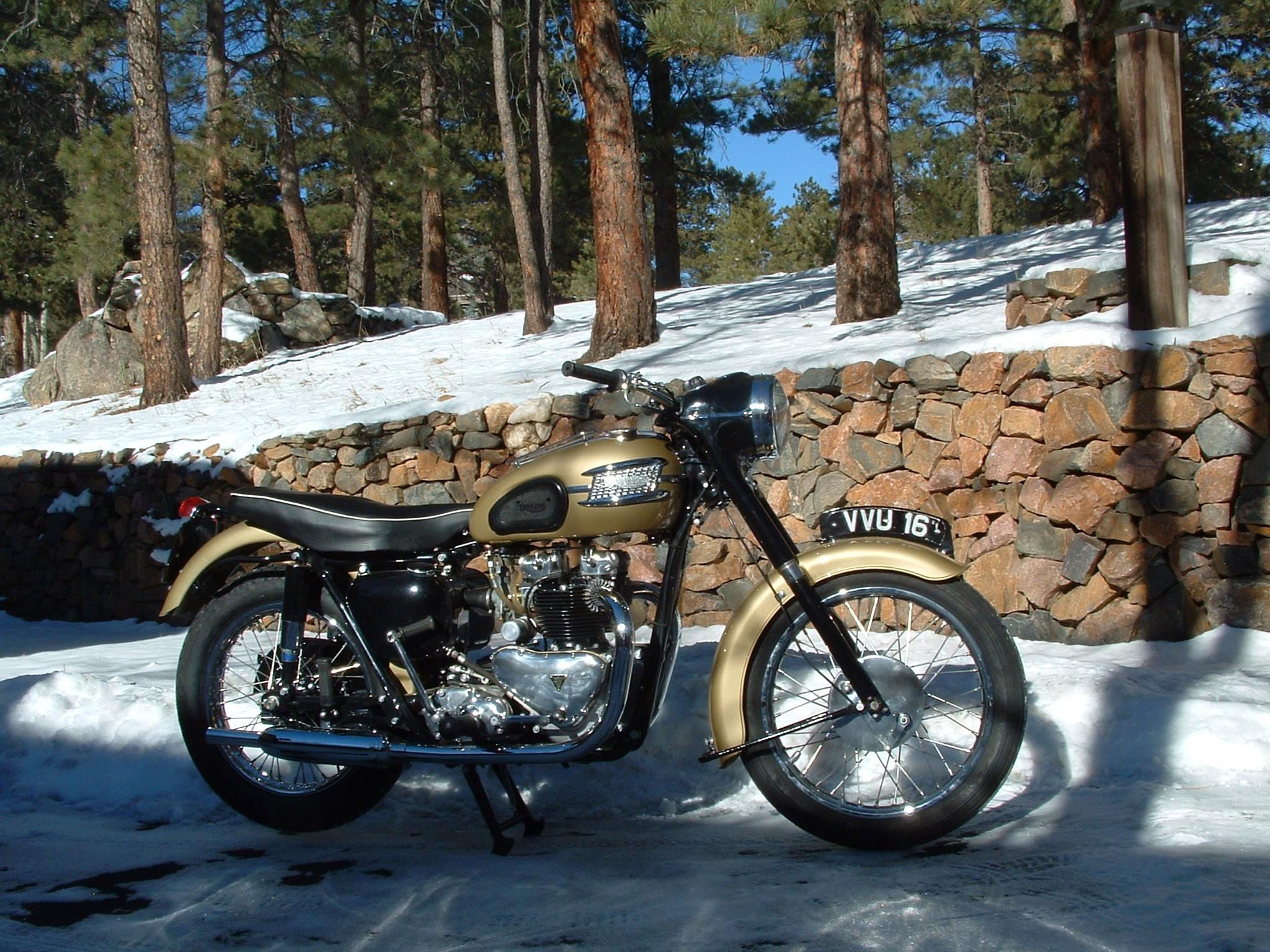 Triumph Thunderbird Gallery Classic Motorbikes