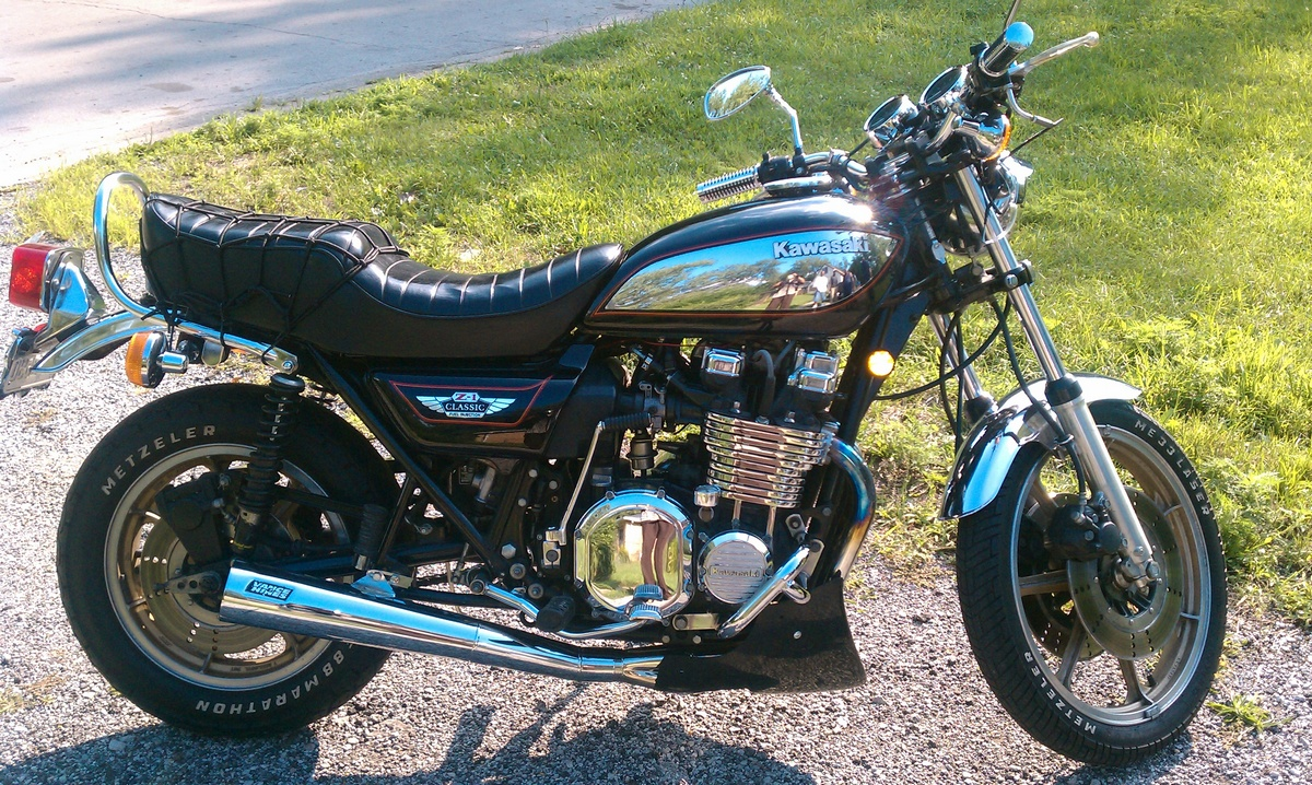 Kawasaki Z1 Gallery Classic Motorbikes 900 Engine Diagram 1980