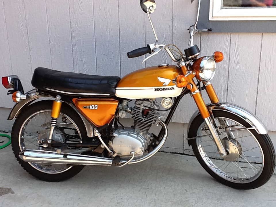 Honda Finance Specials >> CB100 Gallery | Classic Motorbikes