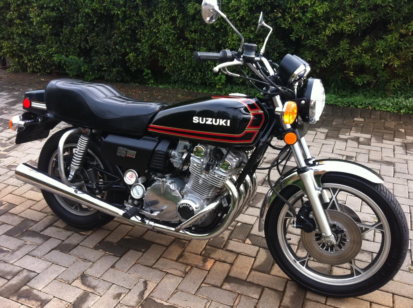 on 1979 Suzuki Gs1000e