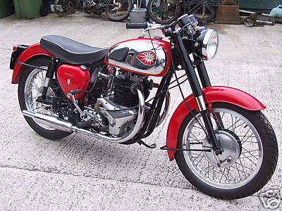 BSA A10 Golden Flash Classic Bike Gallery