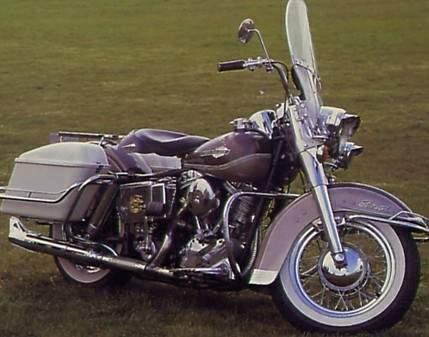 Harley Davidson FLH Clic Bikes   Clic Motorbikes