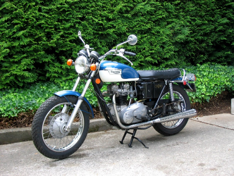 1972 triumph motorcycle modelson - photo #36