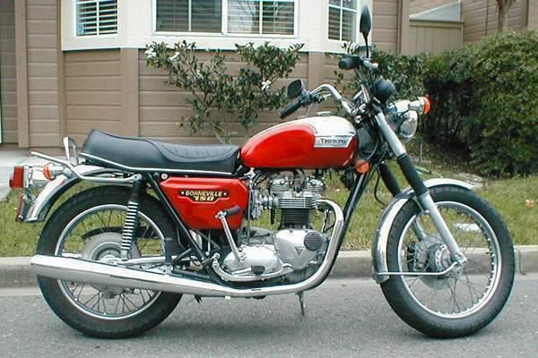 Triumph Bonneville T140 Gallery Classic Motorbikes