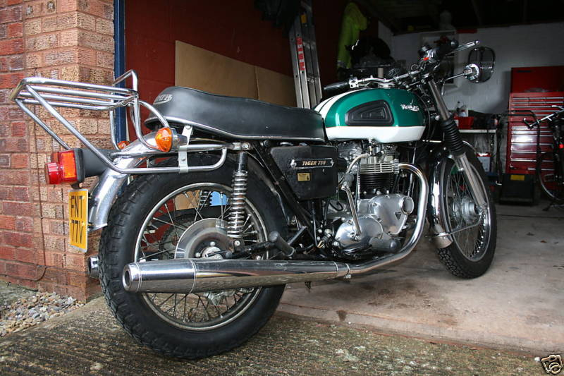 Twin Disc Clutch >> Triumph Tiger Gallery - Classic Motorbikes