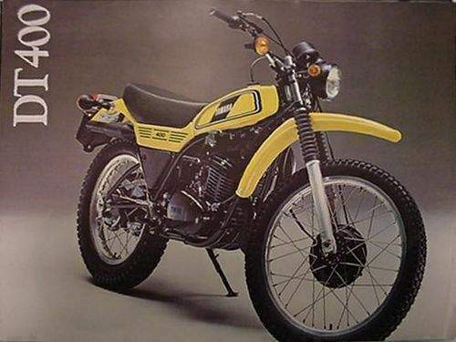 yamaha dt400 dt 400 1978 enduro 1980 1975 street bike moto motorcycles classic road specs motorbikes 1979 owned autoevolution bikes