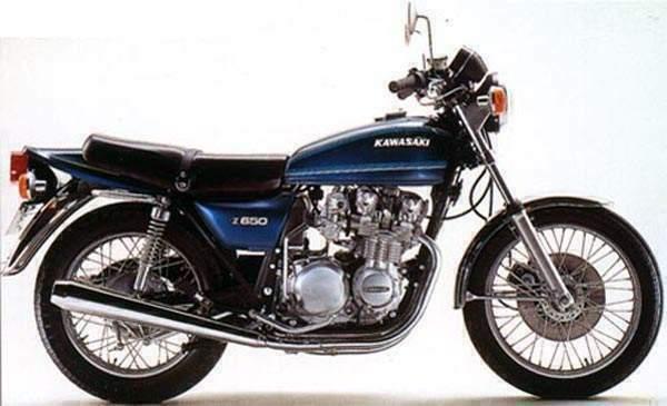 Kawasaki Z650 B1 1978