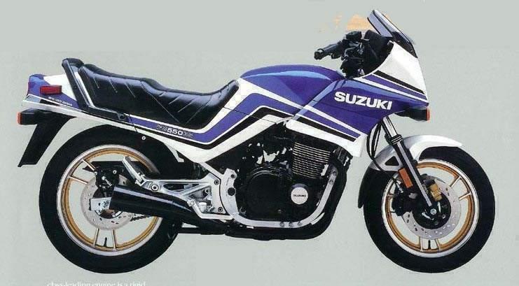 Suzuki Gsx550 Gallery Classic Motorbikes