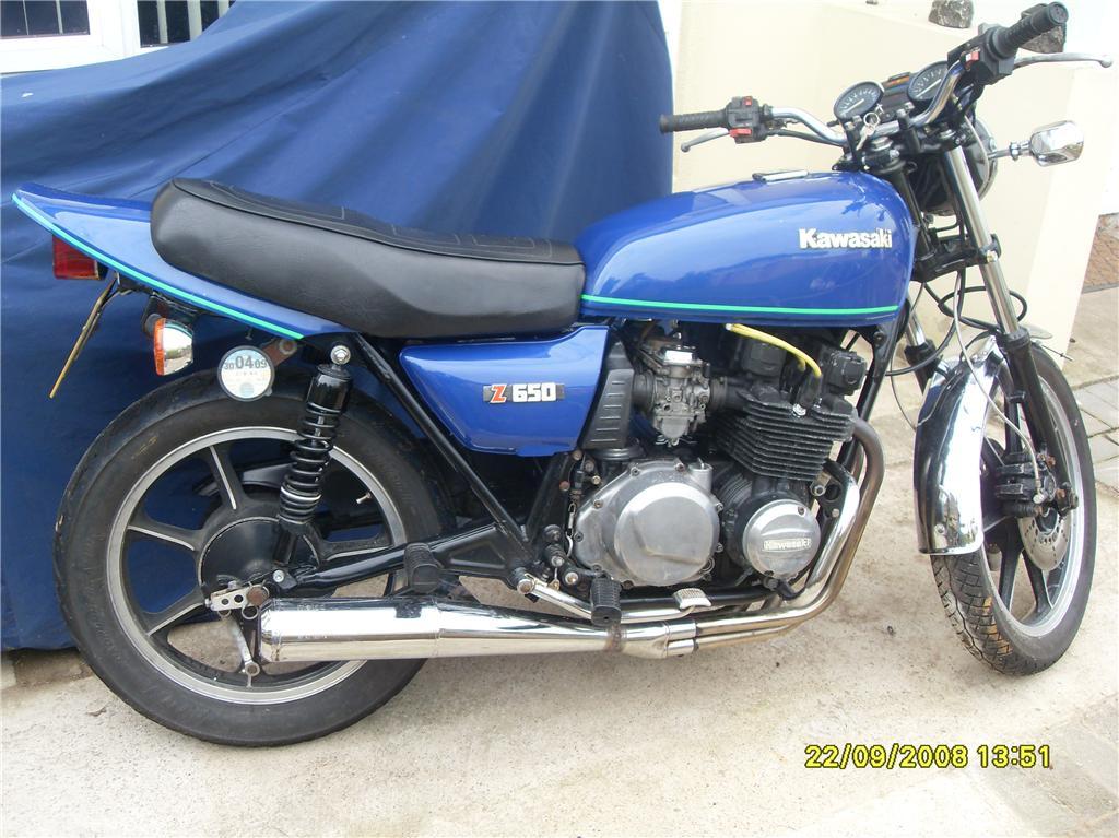 Kawasaki Z650 F4 1984