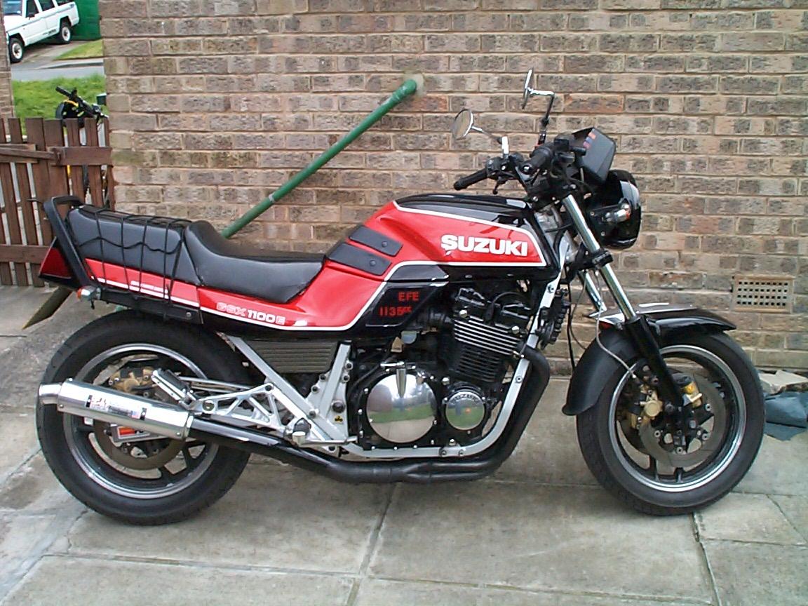 suzuki gsxr1100r 1986. 1986. Suzuki GSX R1100