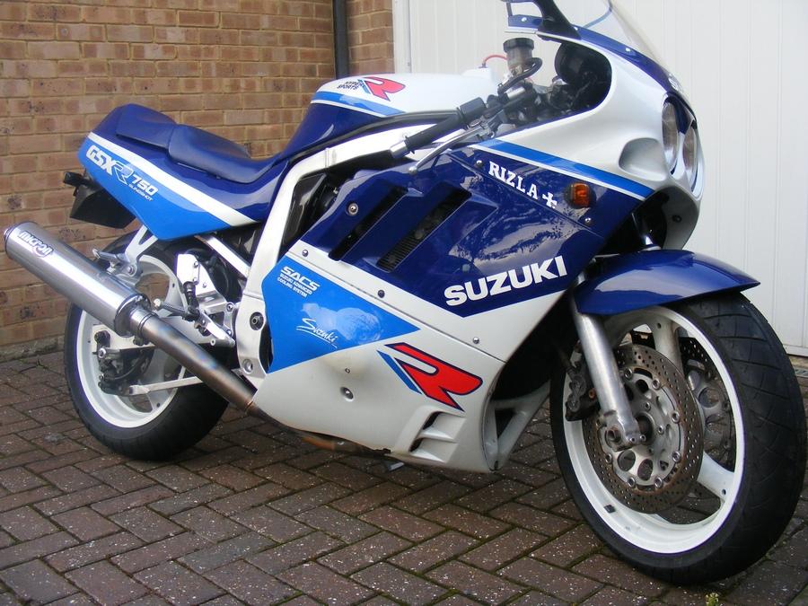 suzuki gsxr 750 - HD1024×768