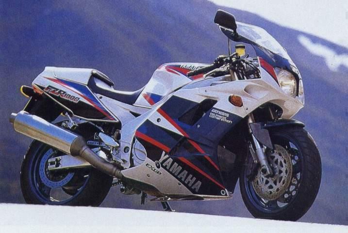 yamaha fzr1000 gallery classic motorbikes rh classic motorbikes net 1994 fzr 1000 service manual 94 FZR 1000 Street Fighter