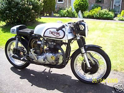 Triton Classic Motorcycles - Classic Motorbikes
