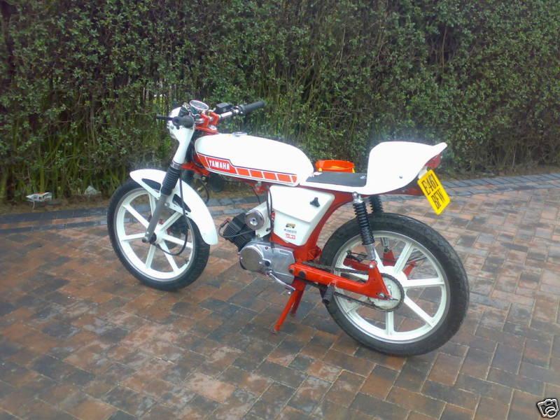 Yamaha FS1E (Fizzy) Gallery - Classic Motorbikes