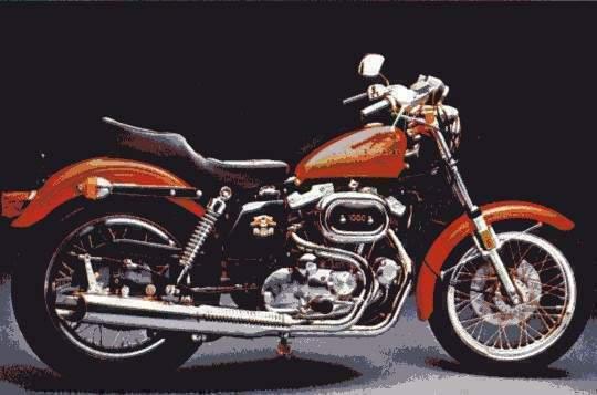 Harley Davidson Sportster Specs