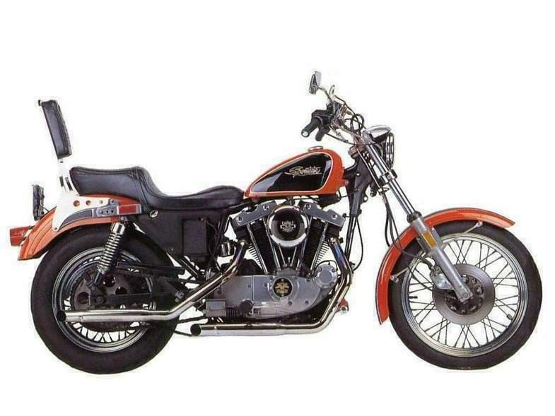 Harley Davidson XLH Clic Bikes | Clic Motorbikes