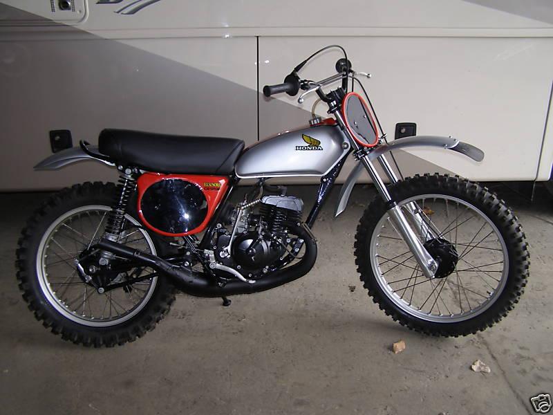Honda CR125 Elsinore Gallery - Classic Motorbikes