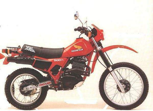 Honda Xl500 Gallery Classic Motorbikes