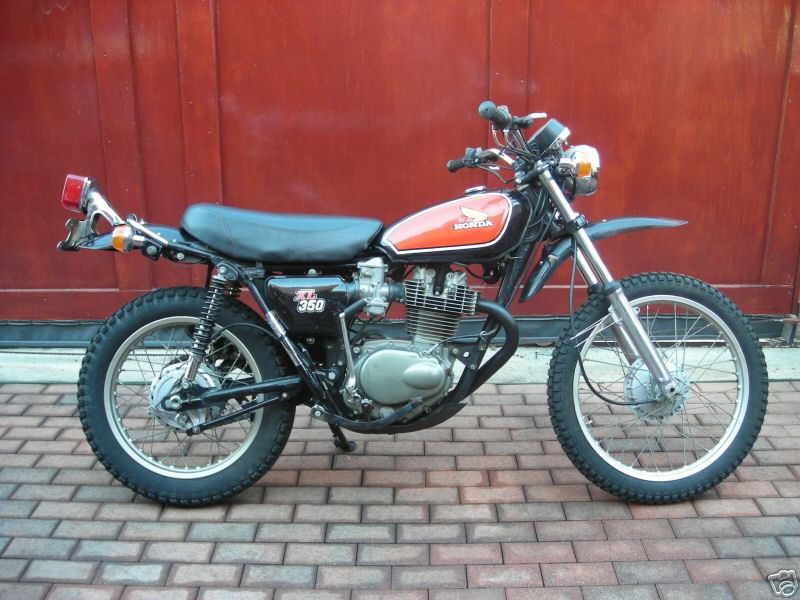 honda xl350 gallery classic motorbikes. Black Bedroom Furniture Sets. Home Design Ideas
