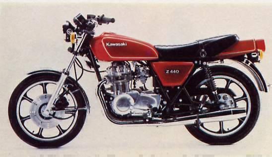 Kawasaki Z440 Gallery | Clic Motorbikes