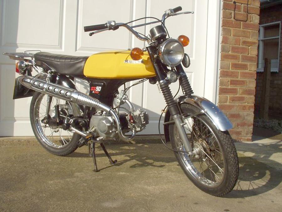 Honda Ss50 Gallery Classic Motorbikes