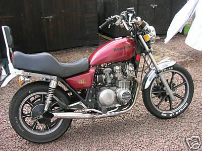 Kawasaki Z550 Gallery   Clic Motorbikes