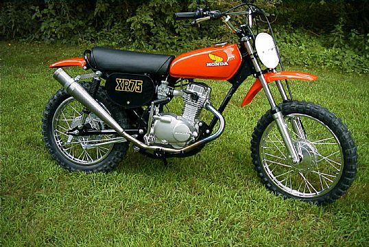 Vintage Honda Motorcycle Exhaust