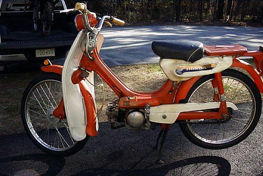 Honda Pc50 Classic Motorbikes