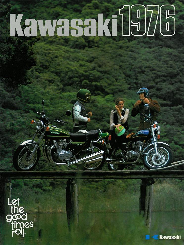 Kawasaki Sales Brochure - Classic Motorbikes