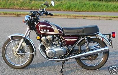Yamaha xs500 gallery classic motorbikes for 1976 yamaha xs500 parts
